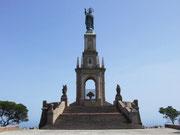 Die beiden Aussichtspunkte auf dem Puig de San Salvador . . .