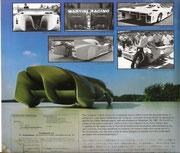 1968 Colani C-Form Diffusor (Deutsches Patent)