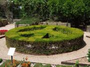 Mit «Peace» werden wir im Botanischen Garten von Soller empfangen . . .