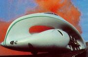 1979 Hochleistungsdampflokomotive für Russland. Weit fortgeschrittenes Projekt scheiterte letztlich an finanziellen Belangen.
