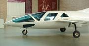 . . . mit optimierter (Aus)sicht für Pilot und Passagier (auch auf der 2.Sitzreihe)