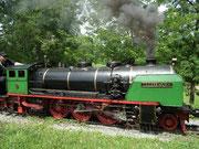 Seit 1928 gibt es diese Parkeisenbahn oberhalb der Stadt Stuttgart