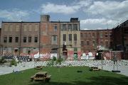 Auch dieses alte Fabrikgebäude wird wohl demnächst einem Neubau weichen