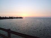Abendlicher Blick bei Bahia Honda auf der Rückfahrt von Key West