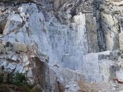 Blick in eine Cave di Marmi