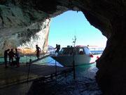 ...und besuchen die Grotta del Bue Marino