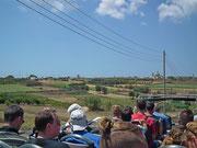Mit dem Hop-on-Hop-off-Bus im südlichen Teil von Malta unterwegs