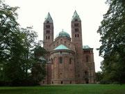 Der Dom ist zugleich die Kathedralkirche der katholischen Diözese Speyer