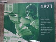 1971 Ausstellungsplakat aus der Nacyhalle in Karlsruhe