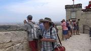 Blick von der Stadtmauer von Mdina . . .
