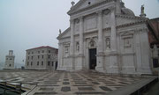 Die Kirche «San Giorgio Maggiore» auf der Venedig vorgelagerten Insel Giudecca . . .