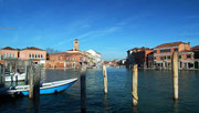 Murano ist deutlich ruhiger als Venedig . . .