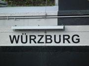 Seit Bamberg schippern wir nun auf dem Main und legen in Würzburg an
