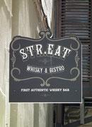 Schöne Wortspielerei für ein Strassen-Restaurant.