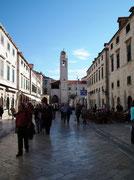 Die «Hauptstrasse» der Altstadt von Dubrovnik