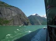 Die Gletscherstücke stammen von einer Gletscherzunge