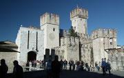 Blick auf das Castello Scagligeri