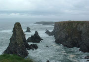 Wir haben den Atlantik (leider) nicht sehr wild erlebt . . .