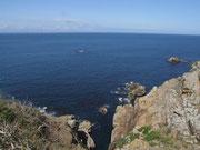 Zum Schluss nochmals in Blick ins tiefblaue Meer rund um Jersey