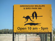 zum «Greenough Wildlife & Bird Park»