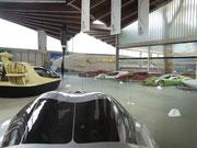 A propos Muscle Car: Die gespannten Muskeln sind auch im Dach sichtbar . . .