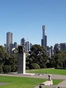 Den höchsten Turm, der «Eureka Tower», werden wir noch «besteigen»