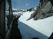 Auch nach dem Tunnel: Fantastisches Wetter
