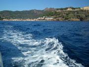 Das Meer ist sehr sauber und auch sehr «azzurro»