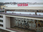 Pseudomoderne Hafenanlage Odessa