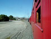 Wir erreichen die Station «Blenheim»