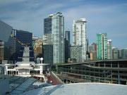Stahl, Glas und Beton bestimmen die Optik am Port of Vancouver