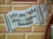 Mit zu den wichtigsten Sehenswürdigkeiten zählt das älteste Gasthaus Deutschlands