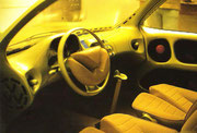 1977 Innenansicht des Prototyps auf Basis des VW-Polo