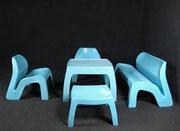 1968 Colani Kunststoff-Sitzgruppe
