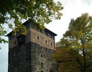 Alter Wohnturm, der heute als Wohnung vermietet ist