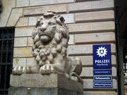 Stolz und mächtig der «Bewacher» der Rathauswache