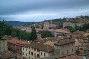Blick über die Dächer von Perugia