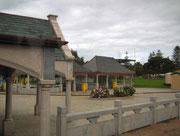 Die Busstation wird neu gebaut