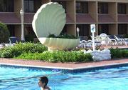 das «Hotel Lou' Lou' A Beach Resort» im Emirat Sharjah . . .