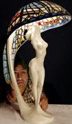 1975 Colani Tiffany-Lampe