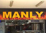 Manly ist offensichtlich ein «heisses» Pflaster 😉