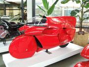 Egli-Kawasaki mit Vollverschalung (auch des Fahrers)