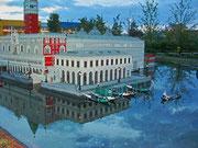 Die Rückseite des Dogen-Palasts von Venedig