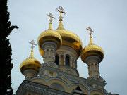 mit den vielen vergoldeten Kuppeln . . .