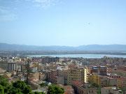 Blick auf den Golf von Cagliari