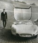 1958 - Erster Colani GT auf VW-Käfer-Basis auf der AVUS in Berlin