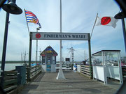 Fisherman's Wharf, aber nicht in San Francisco