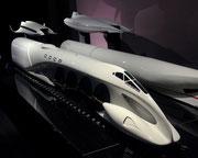 . . . ausgelegt für hohe Geschwindigkeiten und optimierte Luftwiderstandswerte. . .
