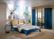 2004 Rattan-Bett im Colani-Design