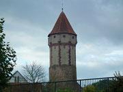 Der «Spitze Turm» war ursprünglich als Wachtturm gebaut und wurde später als Gefängnis genutz
